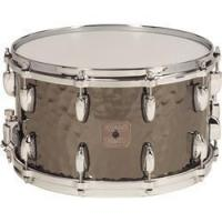 "Quality Drums Gretsch Hammered Steel Snare Drum 8x14"" for sale"