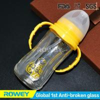 Best Tempered Glass Baby Bottles 240ml with Teat | BPA Free Baby Tempered Glass Bottle wholesale