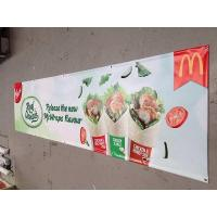Best Hanging banner full color outdoor cheap Quality pvc banner printing wholesale