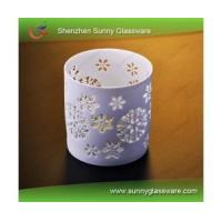 Buy cheap Decorative Weddimg Ceramic Piercing Candle Holder from wholesalers