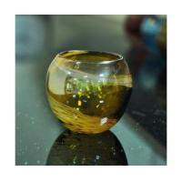 Best 400ml solid glass candle holder wholesale