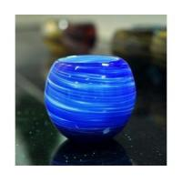 Best 370ml art glass candle holder wholesale