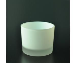 Cheap 490ml frosted glass candle holder for sale