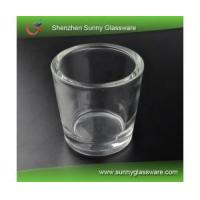Best popular thick-wall glass candle holder wholesale