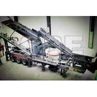 China Mobile VSI Crushing Plant on sale