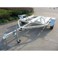 China pull behind motorcycle trailer CMT-39 on sale