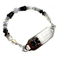 China Item# DCR39- M Is For Marilyn Medical ID Bracelet on sale