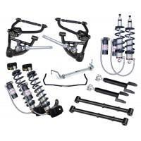 China Polished Hot Rod Shocks 1978-1988 Chevy G-Body - CoilOver System - Level 3 on sale