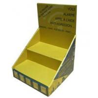 Buy cheap Two Tiers Cardboard Counter Display from wholesalers