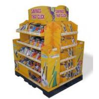 Best Corrugated material store display racks for stationery wholesale