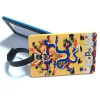 Quality pvc luggage tag for sale
