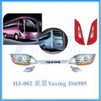 Quality Yaxing bus spare parts JS6905 headlamp, tail lamp, fog lamp for sale