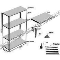 Quality Galvanized Slotted Angle Racks Product Code08 for sale