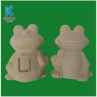 China Customized recycled waste material yellow pulp art and craft for kids on sale