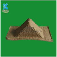 Buy cheap Disposable recycled paper pulp packaging corner protector from wholesalers