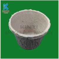 Buy cheap Biodegradable dry pressing mold pulp flower pots from wholesalers