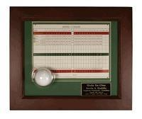 Best Christmas Decor Hole-In-One Ball and Scorecard Display Frame wholesale
