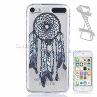 Best Black Wind Chimes Painted Non-slip TPU Back Cover for iPod Touch 5 6 wholesale