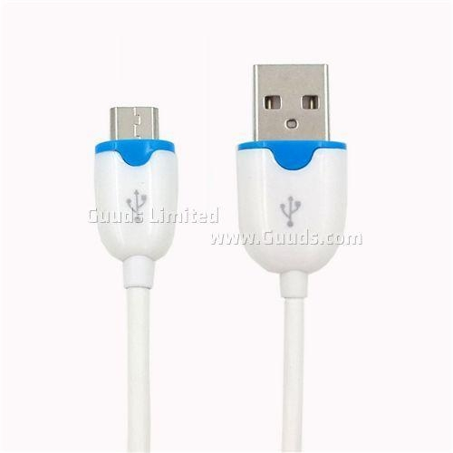 Buy 1.8M Micro USB Spring Data Cable for Samsung / Sony / HTC / LG Phone - White at wholesale prices