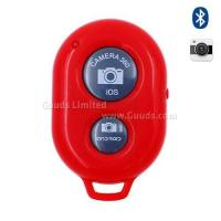Buy cheap Bluetooth Remote Shutter for iOS Android iPhone iPad Samsung Sony LG - Red from wholesalers