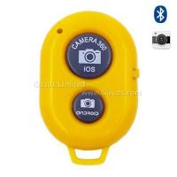 Buy cheap Bluetooth Remote Shutter for iOS Android iPhone iPad Samsung Sony LG - Yellow from wholesalers