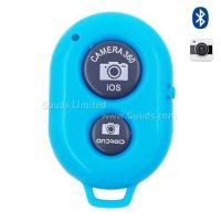 Buy cheap Bluetooth Remote Shutter for iOS Android iPhone iPad Samsung Sony LG - Blue from wholesalers