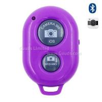 Buy cheap Bluetooth Remote Shutter for iOS Android iPhone iPad Samsung Sony LG - Purple from wholesalers