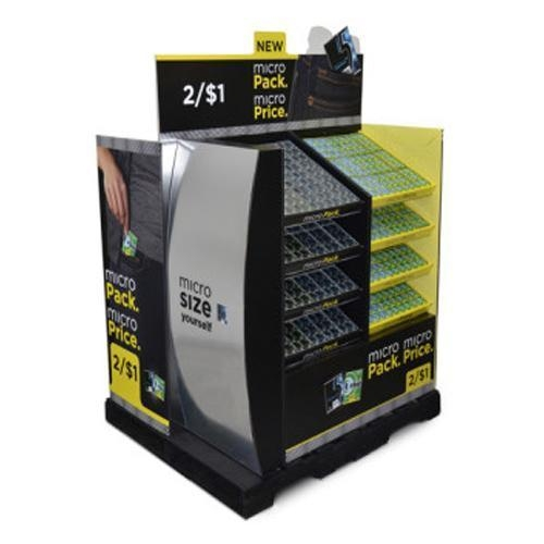 Cheap Cardboard Display Stackable Corrugated Cardboard Pallet Shop Display for sale