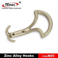 Quality zinc alloy cloth hook for sale