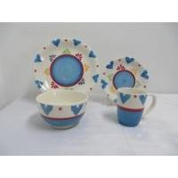 China China products ceramic table ware children dinner set on sale