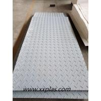 Quality gray color HDPE ground protection mat for sale
