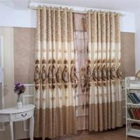 Quality professional curtain factory for blackout curtain fabric and ready made curtain for sale