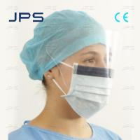 Quality Disposable Face Mask with Eye Shield for sale