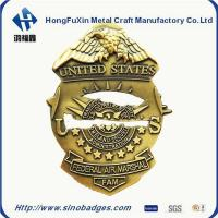 Quality Custom Collar Insignia, Tie Tacs & Bars for Police, Fire & Security DiaCast and 3D Process for sale