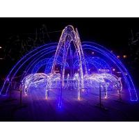 China Outdoor LED Christmas light street decoration LED fountain motif lights on sale