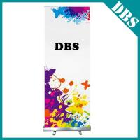 China Lightweight Narrow Base Roll Up Banner Stands for Exhibitions on sale