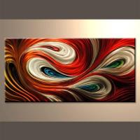 China Abstract Metal Wall Art Sets Metal Sculpture Decor on sale