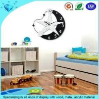 China star wood wall clock on sale