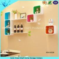 Best solid wood storage shelf wholesale