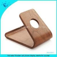 China Wooden cell phone display stents on sale
