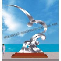 China stainless steel arts sculpture for city decoration on sale