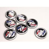 China Adhesive Sticker Custom Car Emblems And Badges Metal Plate Signs Environment on sale