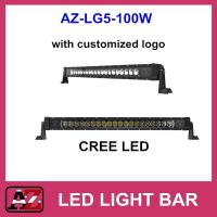 China 100W LED Light Bar with Customized Logo 4x4 Offroad on sale