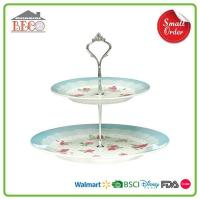 China Plastic Cheap Tiered Cake Stands For Sale | Melamine Vintage 3 Tier Wedding Cake Stands To Buy on sale