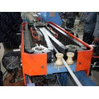 China HDPE PP PVC Single wall Corrugated Pipe Production Extrusion Line on sale