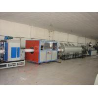 Quality Plastic PVC Pipe Extruding Production Line with CE certification for sale