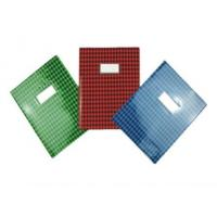 Buy cheap Stationery and Back to School items PVC grid printing Book cover from wholesalers