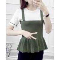 Buy cheap Knitted Korean style bottoming shirt slim tops from wholesalers