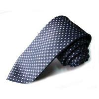 Quality Dot Polyester Knitted Necktie for sale