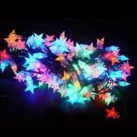 China Elegant and graceful falling star led christmas lights on sale